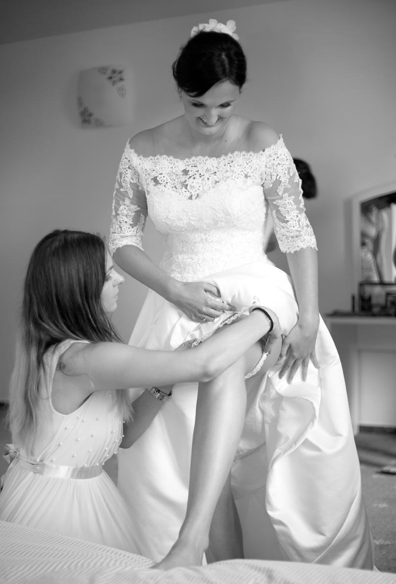 svatební podvazek