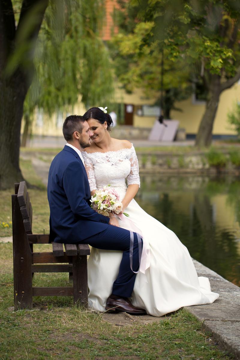 Portrétní svatební foto