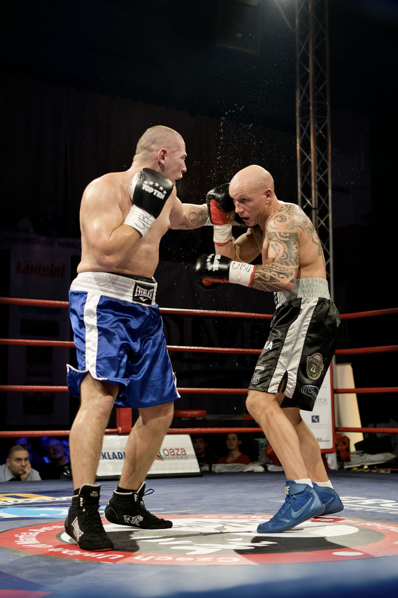 Box titulový zápas