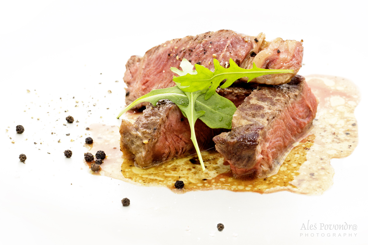 foto jídla steak