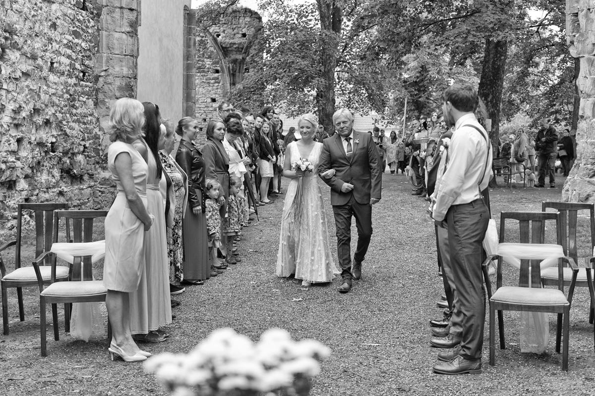 Panenský Týnec svatba