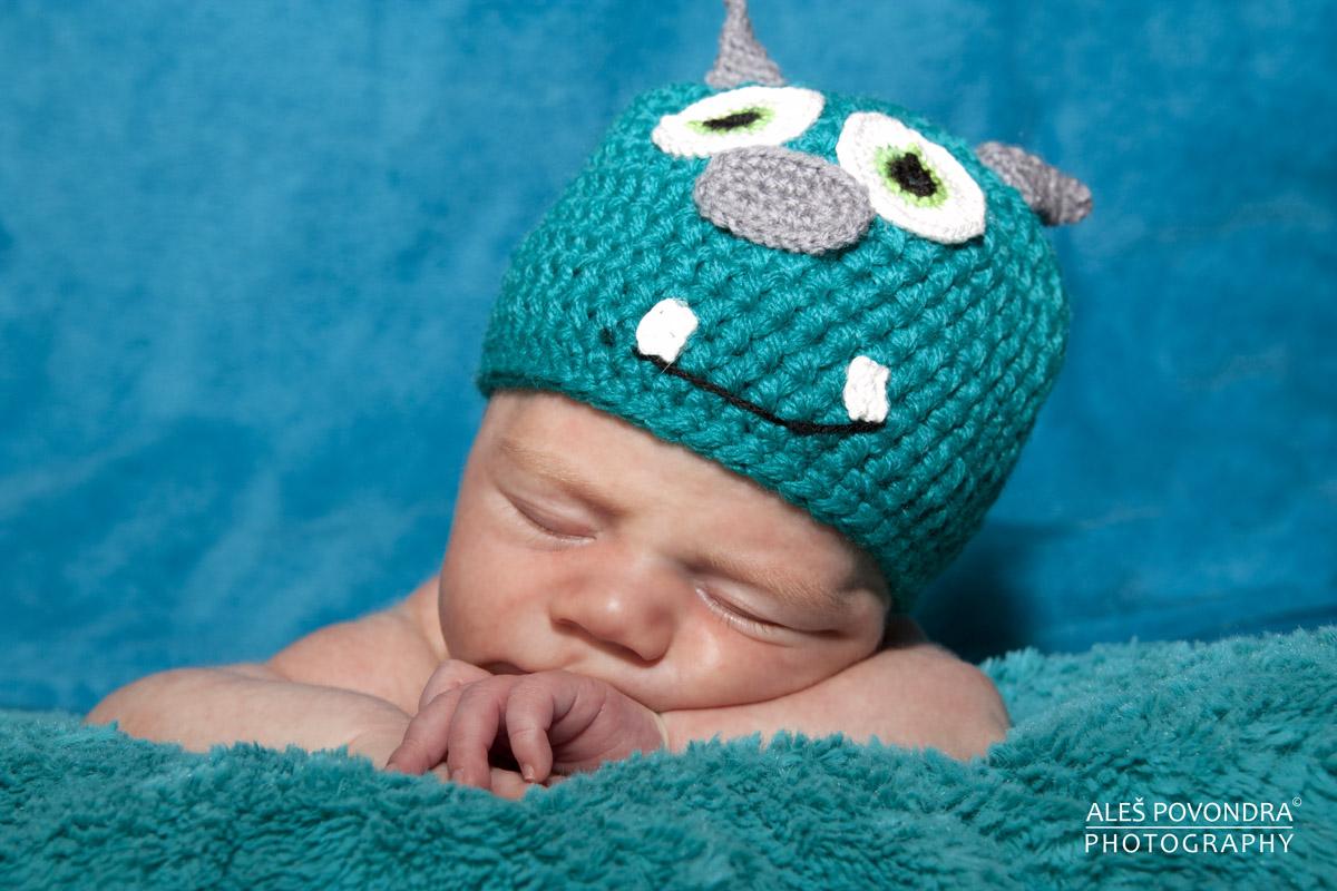 Samík newborn foto