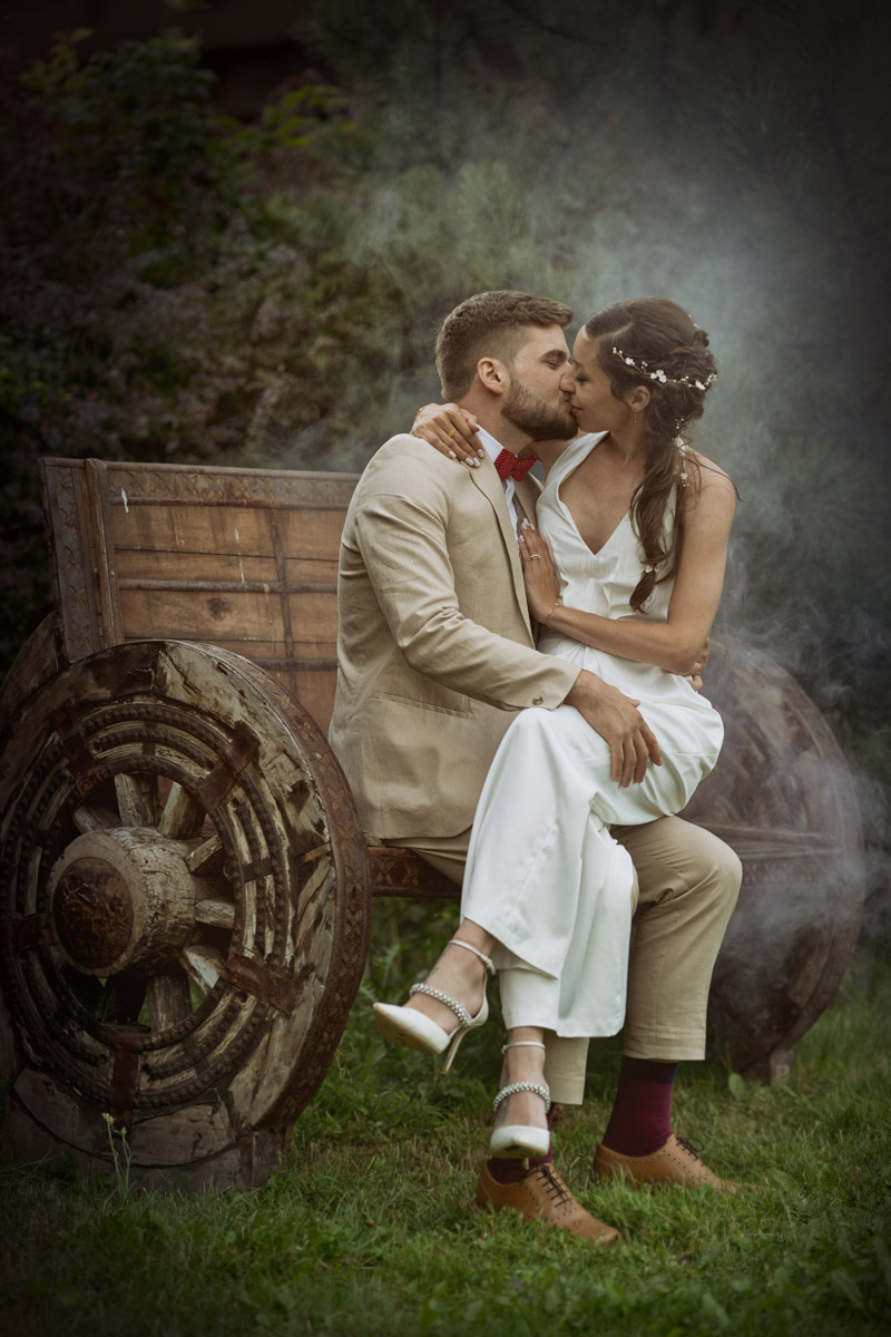 svatební art foto