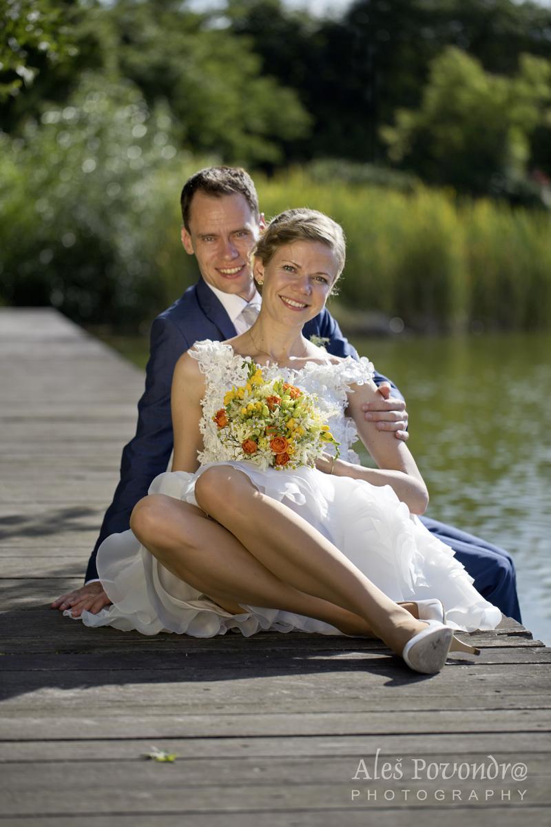 Svatební focení portrét