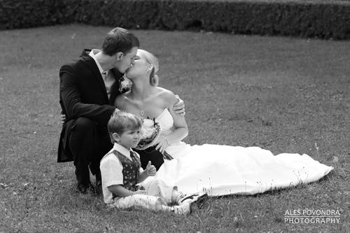 galerie rozcestník / svatební foto černobílé