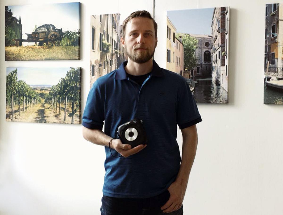 Výstava fotek z cest