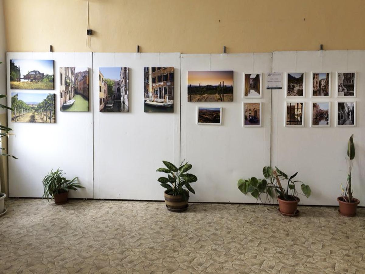 Výstva fotografií z cest Itálie